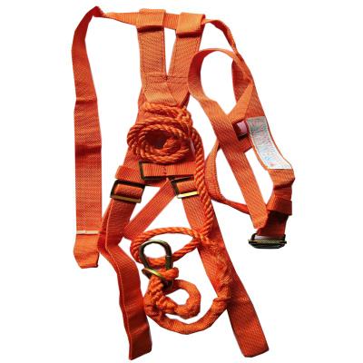 DL-C1单挂点集成式全身安全带配有2m単叉缓冲系带和1个脚手架挂钩(条)