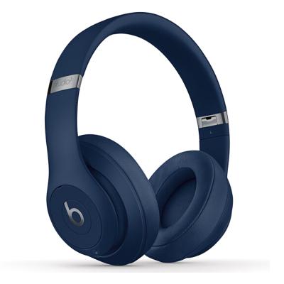 【二手95新】Beats Studio3 Wireless魔音录音师3代 蓝牙无线降噪耳机蓝色 99新