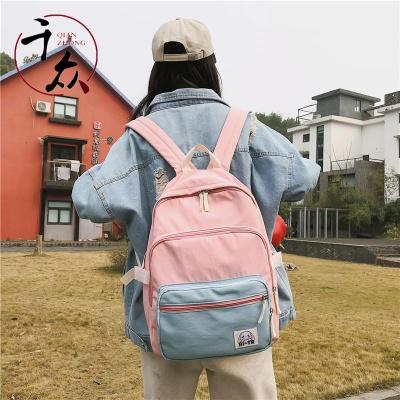【精品特賣】 兒童書包女小學生韓版4-5-6三年級帆布雙肩包可愛公主超輕便背包