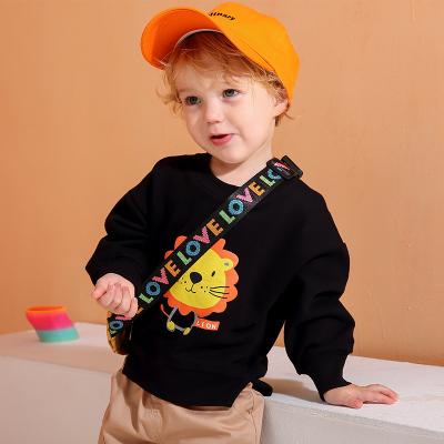 龍之涵(LONGZHIHAN)兒童套頭衛衣秋裝春秋款寶寶韓男童上衣洋氣小童外套 兒童衛衣