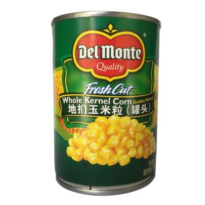 泰國進口 地捫甜玉米粒罐頭制作沙拉披薩地捫玉米羹西餐佐料 地捫玉米粒(420g)蔬菜罐頭
