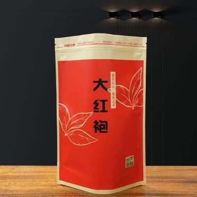 武夷山大紅袍茶葉烏龍茶巖茶新茶濃香型散裝罐裝禮盒-袋裝150g