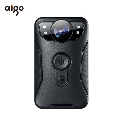 爱国者(aigo)执法记录仪 DSJ-R6 红外夜视1296P 便携录音录像拍照 微型便携户外 骑行(64G) 支持扩容