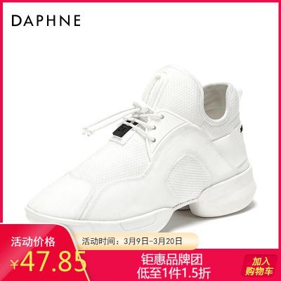Daphne/達芙妮新款時尚ins風個性老爹鞋原宿單鞋子女1018101044