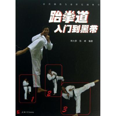 正版 跆拳道入门到黑带 林大参,陈琳 上海大学出版社 9787567109032 书籍