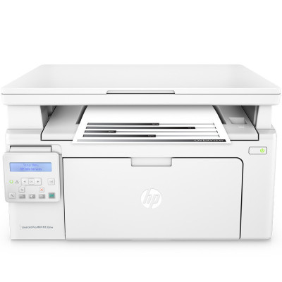 惠普(HP) M132nw 黑白辦公激光一體機多功能打印機一體機(打印 復印 掃描 ) 學生打印作業打印