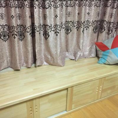實木飄窗柜 實木地柜 電視柜 儲物柜 矮柜 邊柜 可定制 定做定制 刷其他顏色漆費用