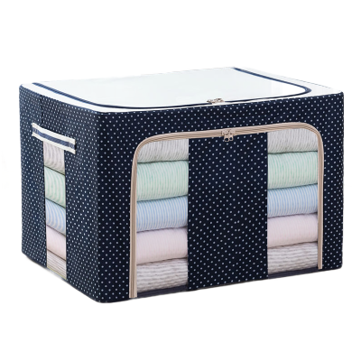 【24-100L百納箱】牛津布衣物收納箱 整理儲物盒棉被收納袋 弧威