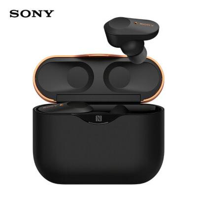 索尼(SONY)WF-1000XM3 真無線藍牙降噪耳機 智能降噪 觸控面板 蘋果/安卓手機適用 黑色