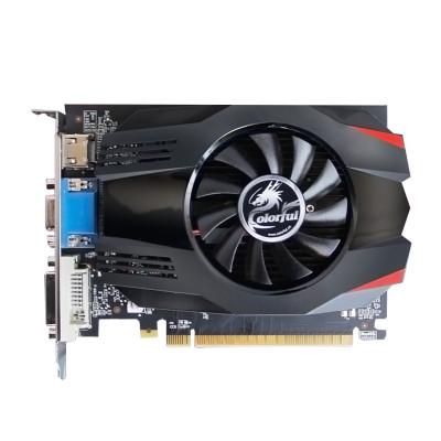 七彩虹(Colorful)GT730K 黄金版 2G 显存 DDR5 PCI-E显卡
