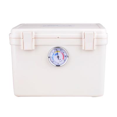 卡赛(KAssA)KS-204N ABS材质 单反相机防潮箱/镜头收纳箱/干燥箱 简易锁卡扣式 带吸湿卡 白色