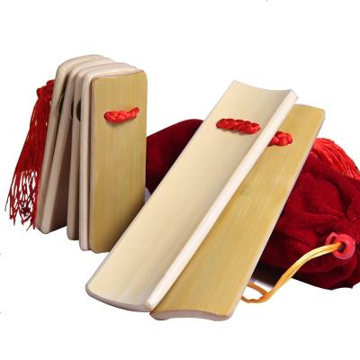梵巢 快板 楠竹 材質 兒童 初學 練習 幼兒 竹板 相聲 天津 快板書 KB-01 樂器 原色快板KB-01