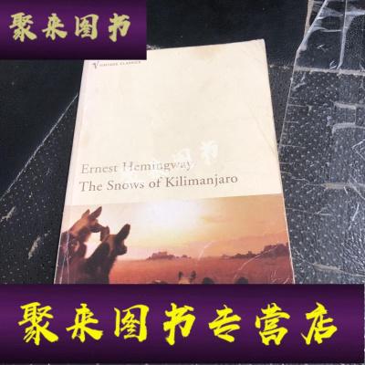 《正版九成新》Ernest Hemingway THE SNOWS OF KILIMANJARO And Other S