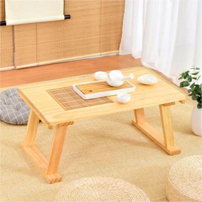 HOTBEE日式榻榻米茶几简约实木飘窗桌窗台地台矮桌炕桌阳台小餐桌电脑桌