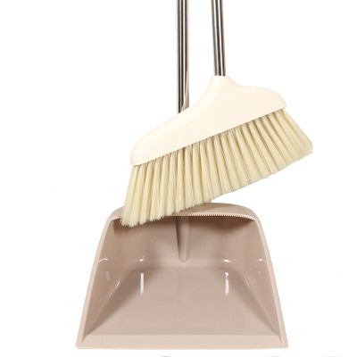 工霸(GONGBA)掃把簸箕組套不銹鋼桿笤帚掃帚套裝 1套
