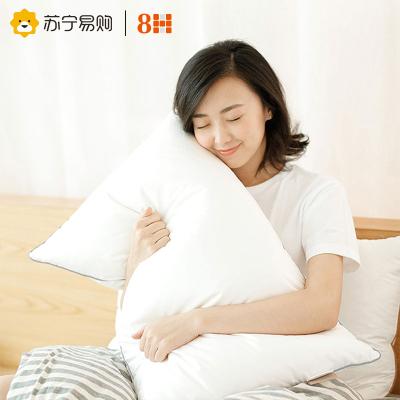 8H枕頭 小米生態鏈企業羽絨枕芯全棉95%大朵白鵝絨三腔舒適枕 助眠枕 鵝絨枕
