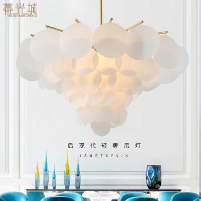 幕光城 歐式北歐后現代個性客廳創意亞克力圓片吊燈客廳臥室餐廳其他設計師吊燈