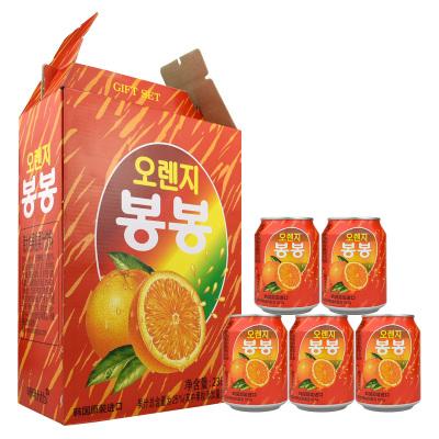 韓國進口海太(HAITAI)桔汁238mlx12瓶整盒裝