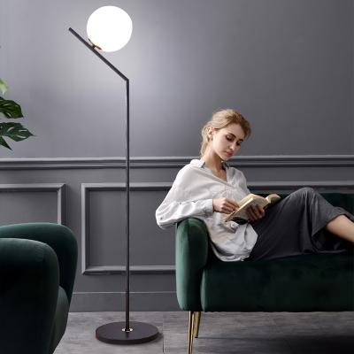 Grevol百搭LED創意個性落地燈ins風臥室客廳簡約現代書房裝飾立式燈具