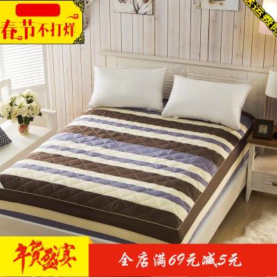 床笠单件加厚夹棉保暖保护套床单床套1.8m床罩床垫套防尘罩