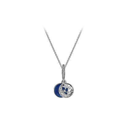 Pandora潘多拉925銀項鏈 星海之辰成品項鏈套裝送女友禮物SP002