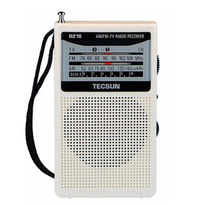 德生(TECSUN)手調收音機R-218 白