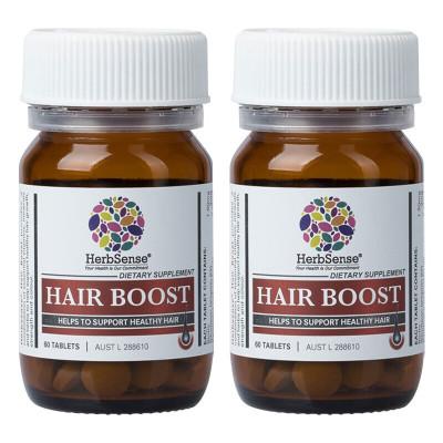 贺柏圣(Herbsense) 澳洲新西兰原装进口 何首乌精华养发片 60片*2瓶