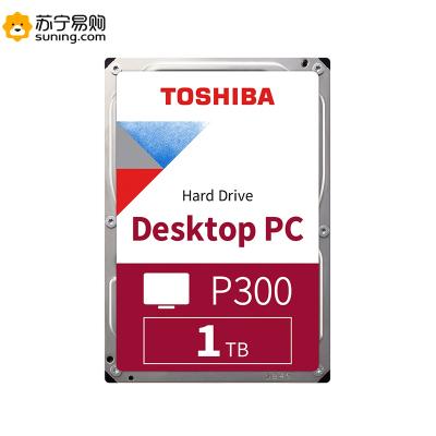 東芝(TOSHIBA)P300系列 1TB 7200轉64M SATA3 臺式機硬盤(HDWD110)