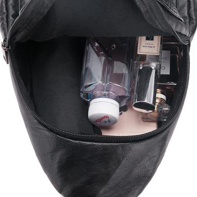 迷你雙肩包女韓版2020新款簡約百搭時尚休閑旅行大容量小背包
