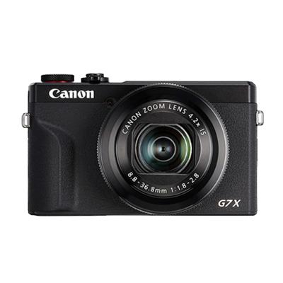 佳能(Canon)PowerShot G7X Ⅲ 黑色 數碼相機 Vlog視頻拍攝 約2010萬有效像素 3英寸屏幕