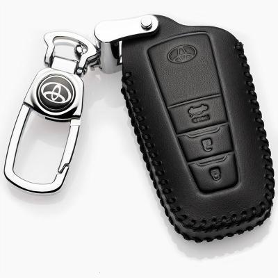 2019款广汽丰田凯美瑞钥匙包18款专用第八代凯美瑞钥匙套凯美瑞8代钥匙扣真皮汽车男女士钥匙保护套壳