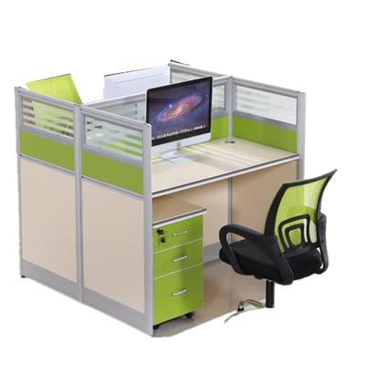 久凰 办公室组合办公桌 单人 含柜子 (不含椅子) JH-187
