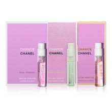 香奈儿(Chanel) 香水试管香水小样套装女 粉邂逅+绿邂逅+黄邂逅