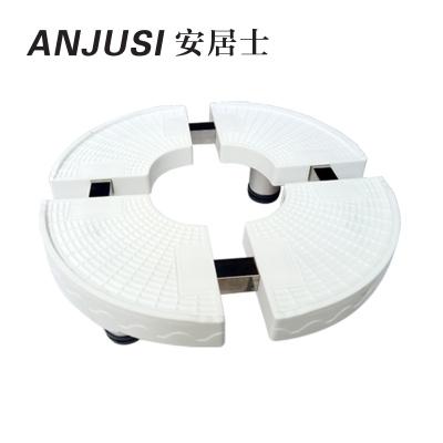 帮客材配 安居士空调柜机底座B款 材质:PP塑料 规格:圆形 单价:52.5元/个 单个销售