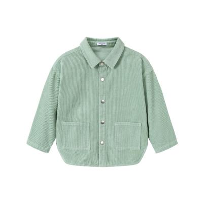 巴拉巴拉童装小童衬衫男童衬衣儿童上衣2019新款秋装宝宝灯芯绒潮