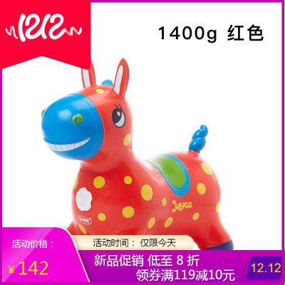 儿童充气玩具跳跳马羊角球跳跳球加大加厚宝宝充气马骑马坐骑小马