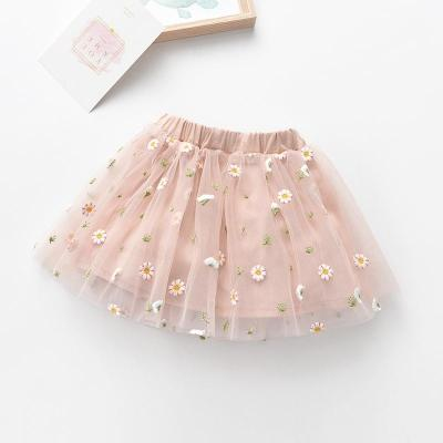 女童短裙半身裙夏季韓版兒童公主裙中小童網紗舞蹈裙寶寶蓬蓬裙子 娜蜜雨(NAMIYU)