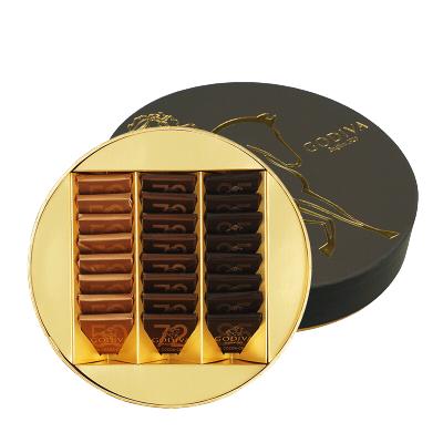 GODIVA歌帝梵72%黑巧克力禮盒裝24塊送女友情人節生日禮物