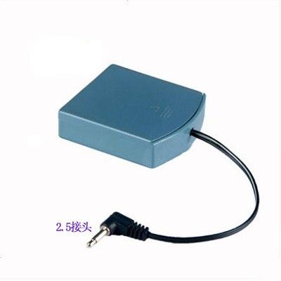 定做 通用雙頭外接電池盒保密柜電子密碼鎖備用電源4節5號電池6 2.5接頭