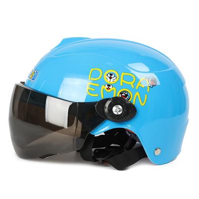 友用行兒童頭盔男孩女夏季電動電瓶車小孩寶寶四季通用摩托車安全帽半盔
