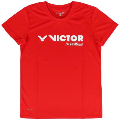 威克多VICTOR T-82028羽毛球服 童款羽毛球運動服兒童短袖圓領T恤