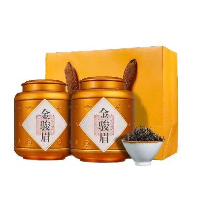 源御露(Yuan Yu Lu)新春茶金骏眉红茶武夷散装茶叶礼盒装浓香型茶叶500g