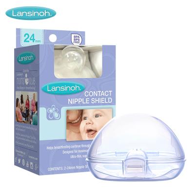 蘭思諾( Lansinoh)701716 親柔觸感乳頭保護罩