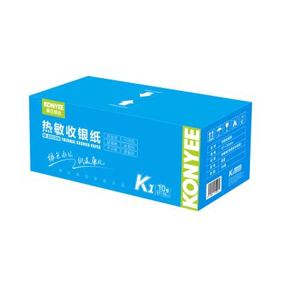 康亿(KONYEE)热敏收银纸KS53308 57*30 10卷/箱打印作业,打印照片喵喵机专用打印纸