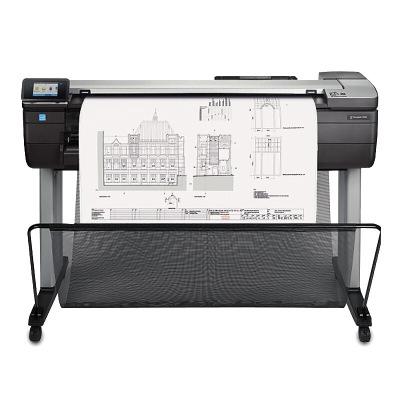 惠普HP DesignJet T830 A1 大幅面打印机 多功能一体机610 毫米 (F9A28B) 24英寸绘图仪