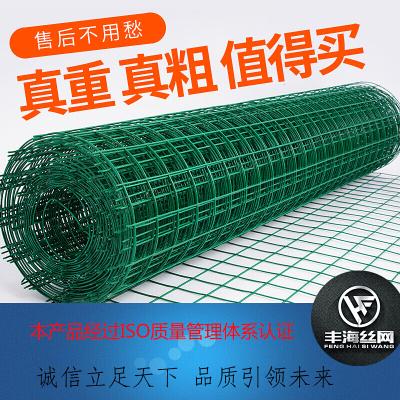 丰海 加硬铁丝网围栏养殖网钢丝网护栏网养殖隔离鸡鸭防护硬塑铁丝网圈地种植
