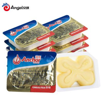 烘焙原料 新西蘭進口Anchor淡味小黃油10g*10粒 動物黃油