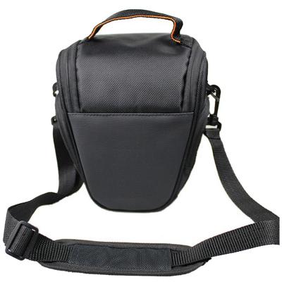 單反斜跨攝影相機三角包 防水防震呵護相機單肩包 適用尼康微單數碼便攜相機包 黑色 一機一鏡容量 for尼康背包