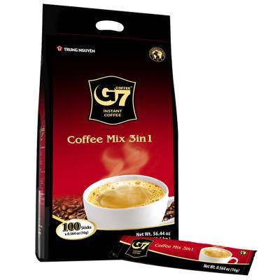 中原G7三合一速溶咖啡16gX100/條裝