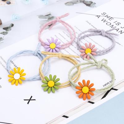 【10只裝】多款式韓國頭飾 波點兔耳朵發圈 扎頭皮筋發繩配件